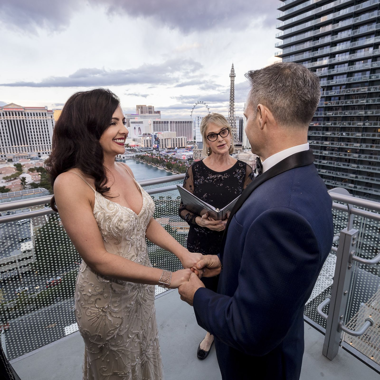 Las Vegas Wedding Officiant - Cosmopolitian