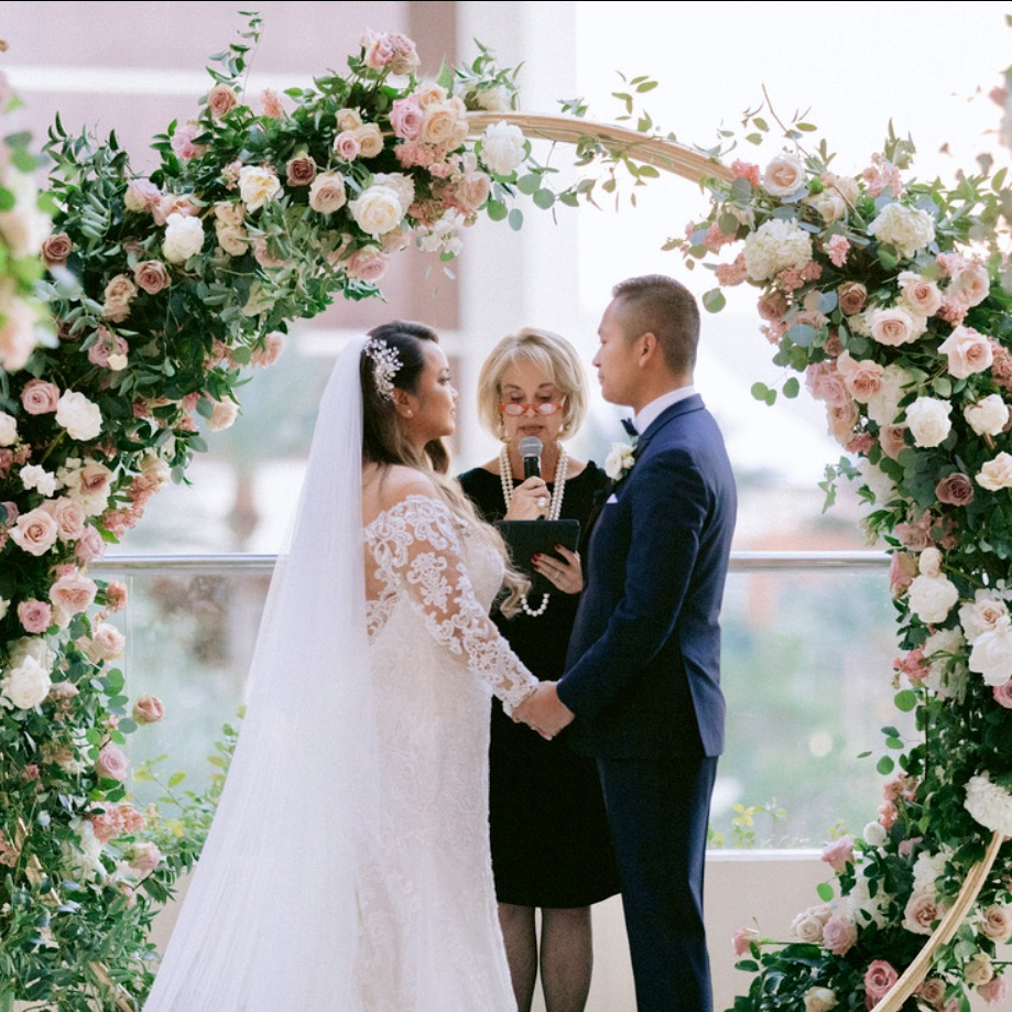 Las Vegas Wedding Officiant - Armelyn & Francis