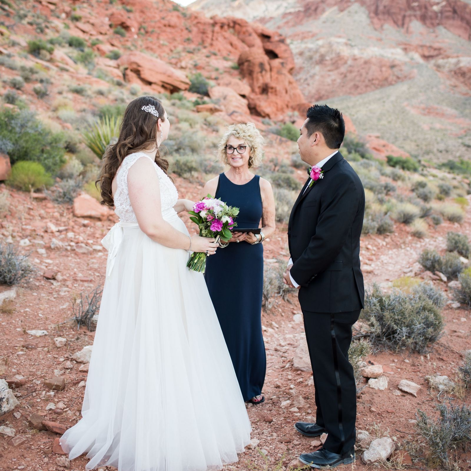 Las Vegas Wedding Officiant - Red Rock