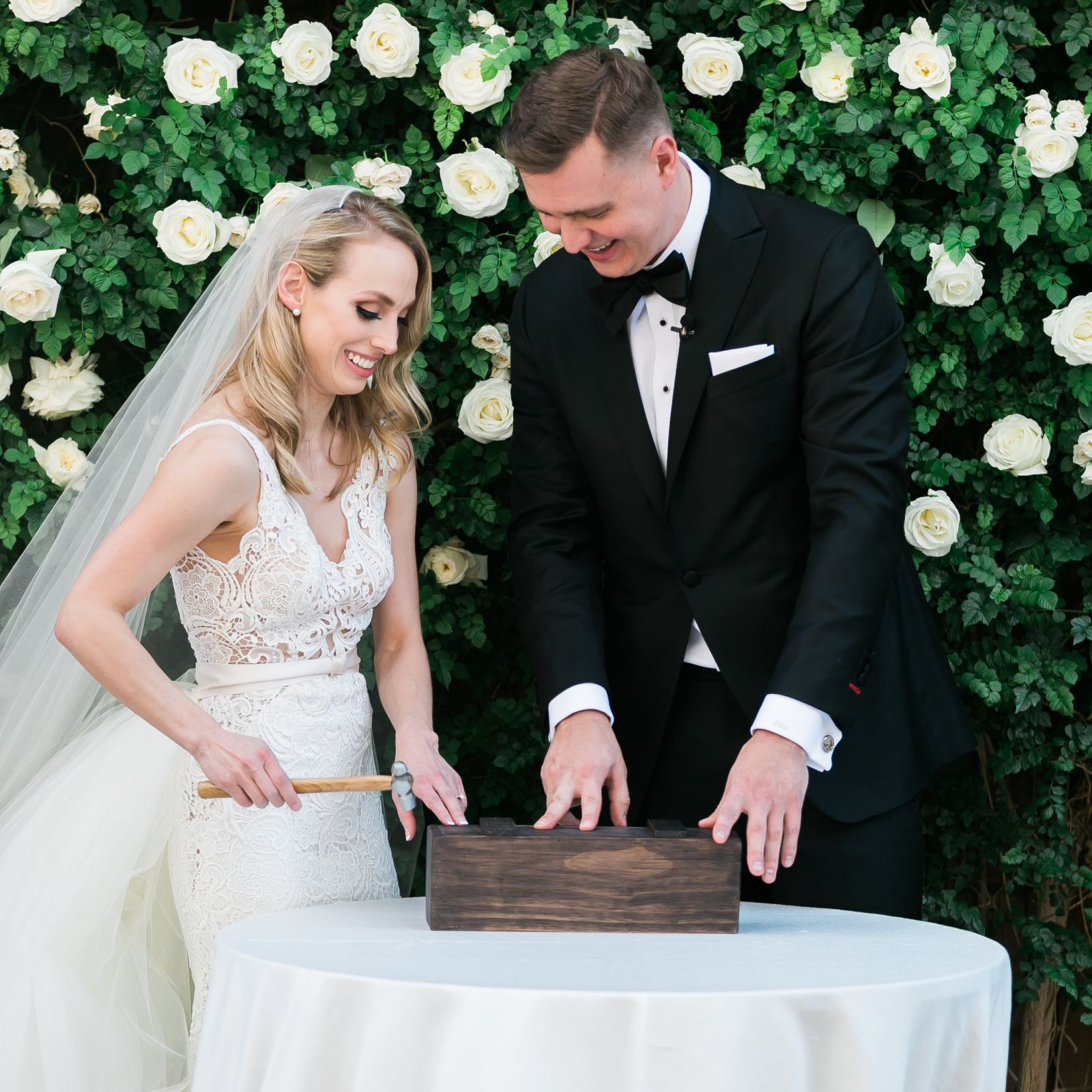 Las Vegas Wedding Officiant - Wine Box Ceremony